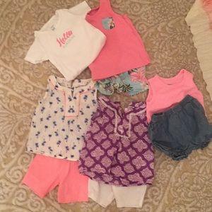 Carter's 18 month summer bundle